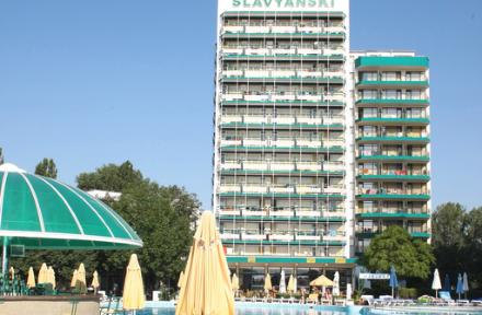 Hotel Slavyanski In Sunny Beach Black Sea Coast Bulgaria