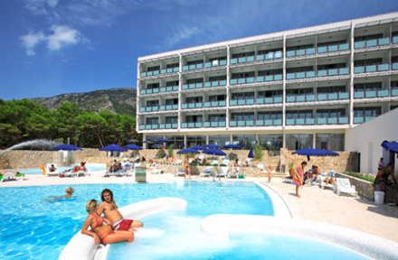Bluesun Hotel Elaphusa In Bol Brac Island Croatia